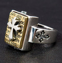 Medieval Cross Ring 2