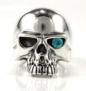 Keith Richards Skull Ring - Click Image to Close