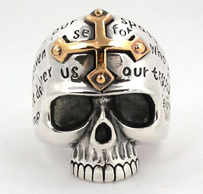 Cross Skull Ring